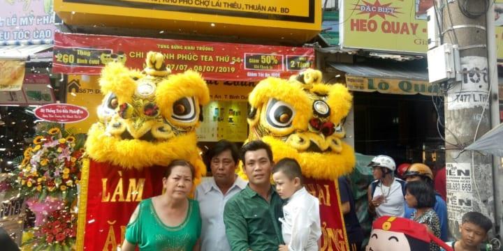 Múa lân I Múa lân sư rồng giá rẻ tại Ninh Thuận