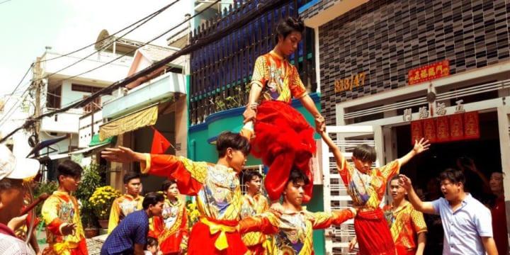 Dịch vụ múa lân khánh thành giá rẻ tại Ninh Thuận