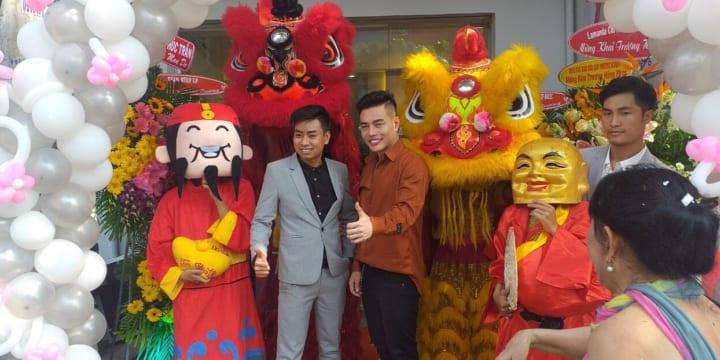 Dịch vụ múa lân sư rồng chuyên nghiệp giá rẻ tại Phú Yên