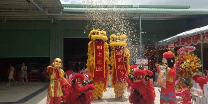 Dịch vụ múa lân sư rồng giá rẻ tại Ninh Bình
