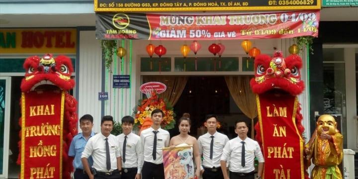 Dịch vụ múa lân sư rồng khai trương tại Bình Thuận