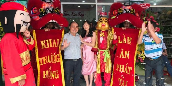 Dịch vụ múa rồng khánh thành chuyên nghiệp tại Bình Phước
