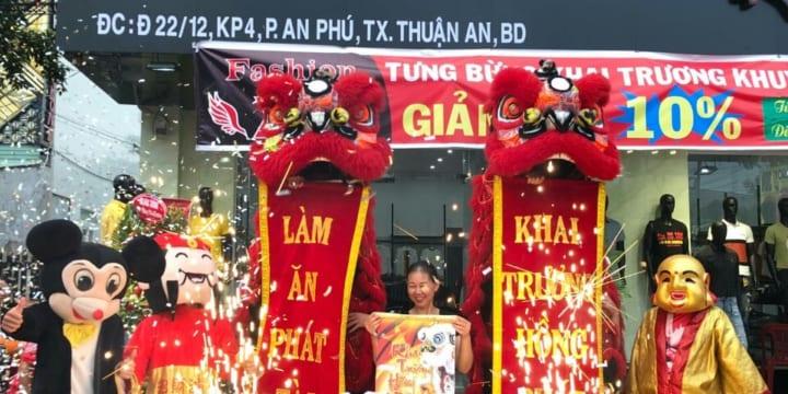 Dịch vụ múa lân sư rồng chuyên nghiệp tại Bắc Giang