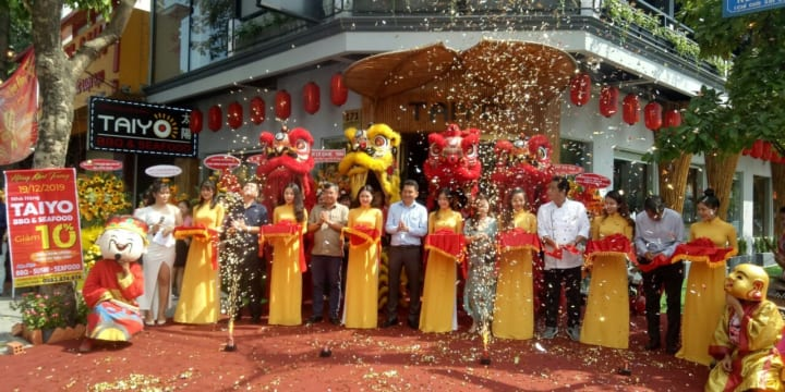 Dịch vụ múa lân khởi công chuyên nghiệp giá rẻ tại Phú Thọ