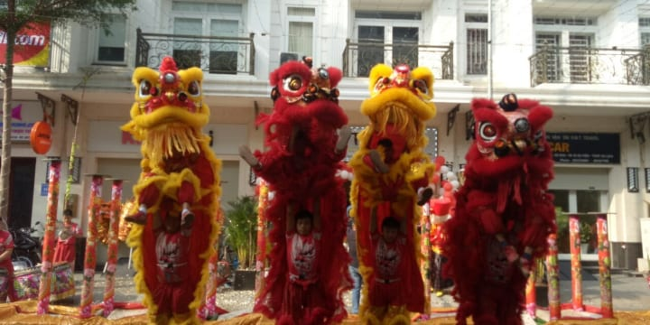 Dịch vụ múa lân khởi công chuyên nghiệp giá rẻ tại Long An