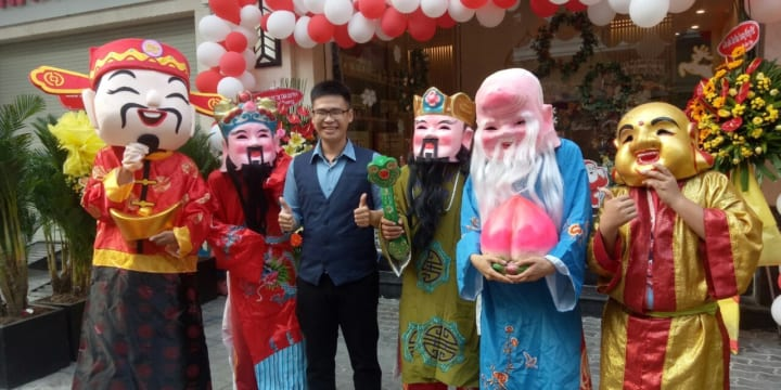 Dịch vụ múa lân sư rồng chuyên nghiệp tại Đà Nẵng